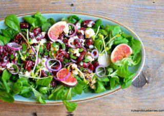 Roter Bohnen Feta Salat