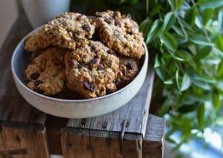 Pistazien Orangen Cookies