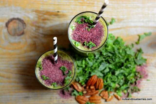 Creamy Kale Detox Smoothie nab (3) sättigende Smoothies