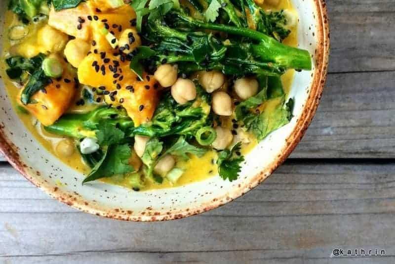 Gast Rezept: Gesundes Gemüse Curry
