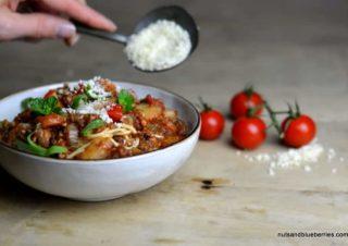 Aromatische Tofu Bolognese