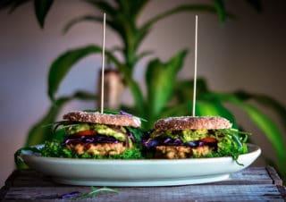 Mr. und Mrs. Kichererbsen-Burger