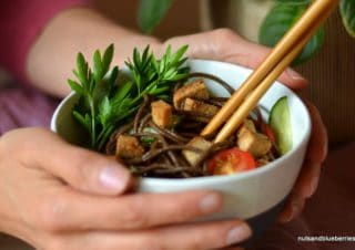 Soba (Buchweizen) Nudel Salat