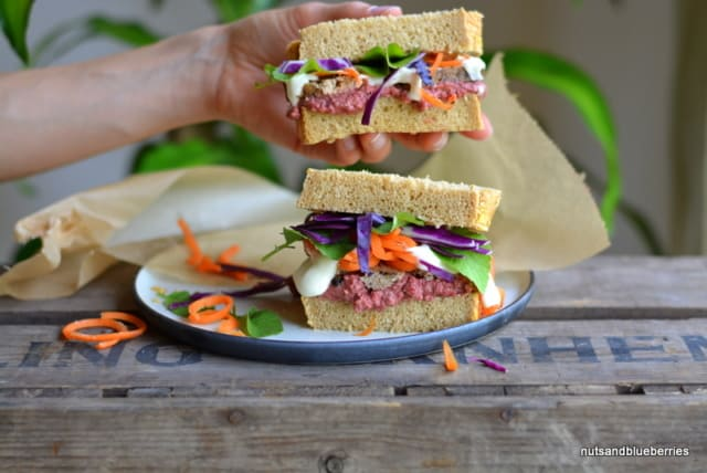 1-Sandwich with Red Beet Hummus (12)