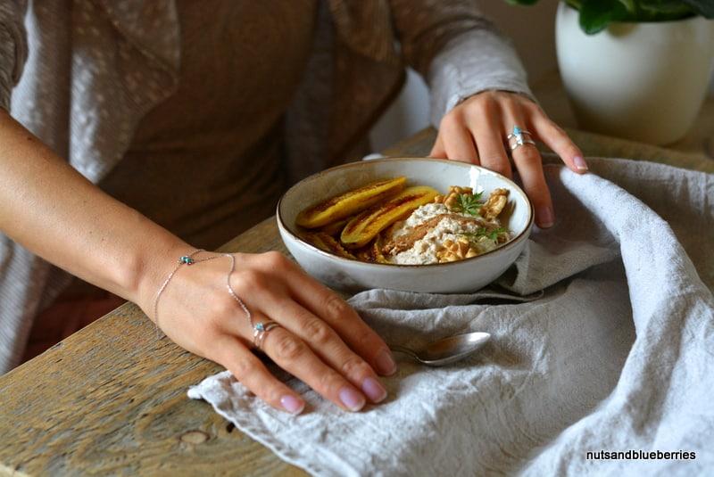 Walnut Oat Porridge with Baked Banana nab (3)