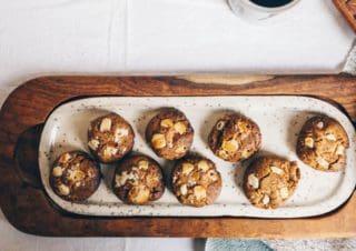 Weisse Schokoladen Kekse mit Chai Gewürz von Kati – blackwhitevivid
