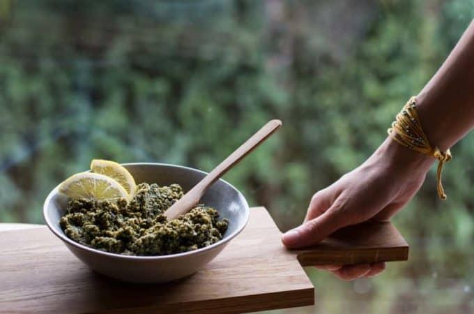 Vegan Kürbiskern-Olivencreme & meine Ernährungs- und Kochroutine