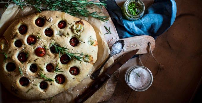 Rosmarin Tomaten Focaccia und die harte Realität des Kochens im 21. Jhd