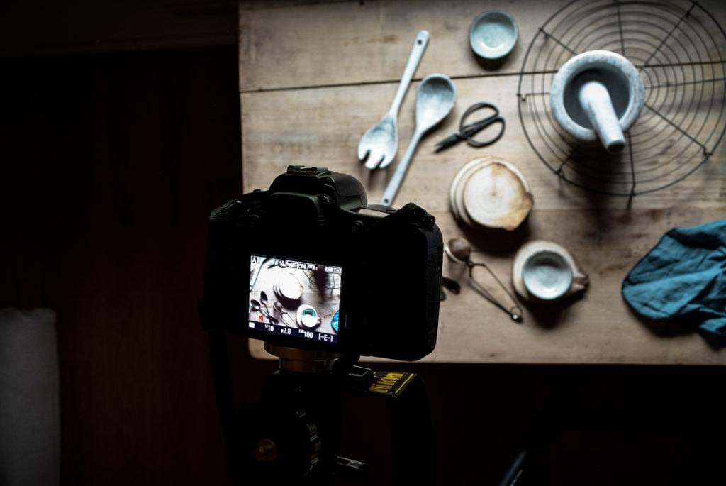 Food Fotografie Licht Behind the scenes