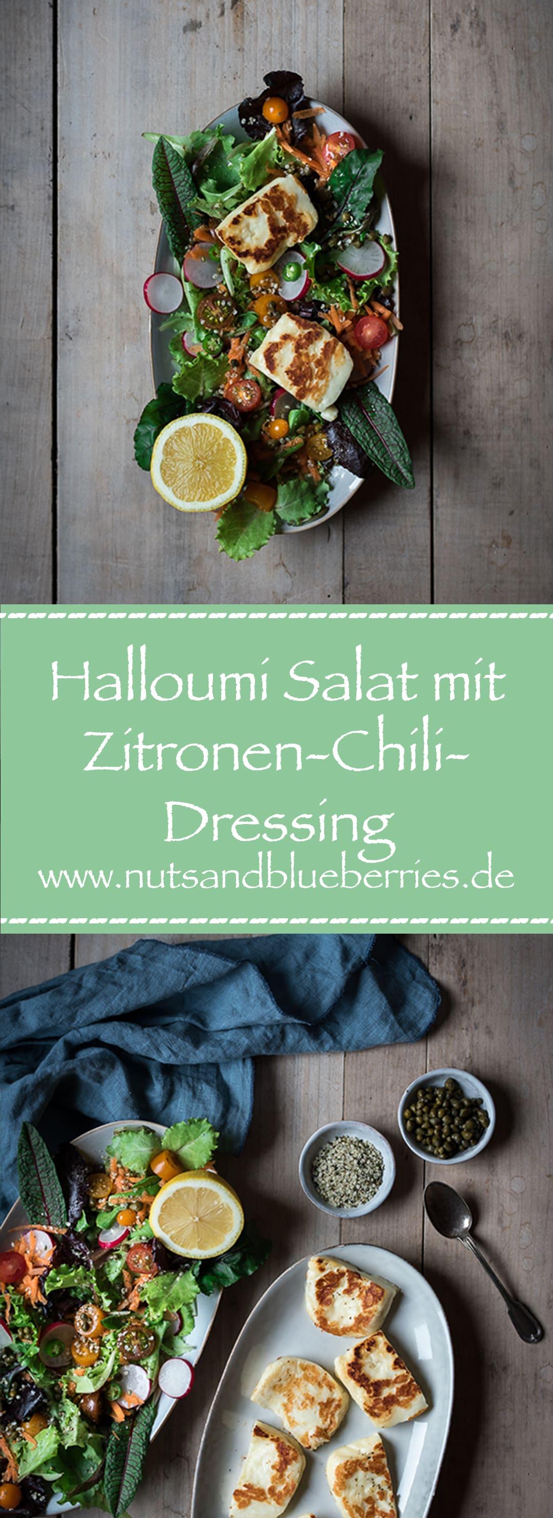 Halloumi Salat