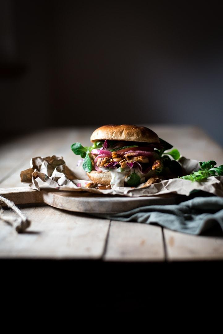 jackfruit burger