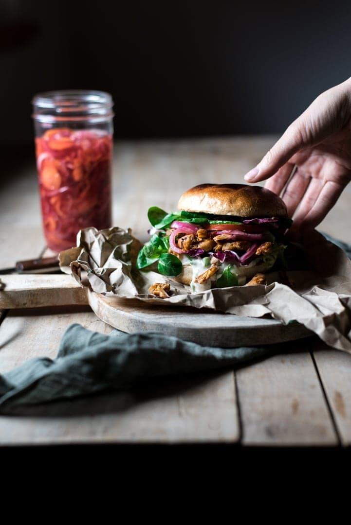Vegetarischer Burger Gesunde Ernährung Definition