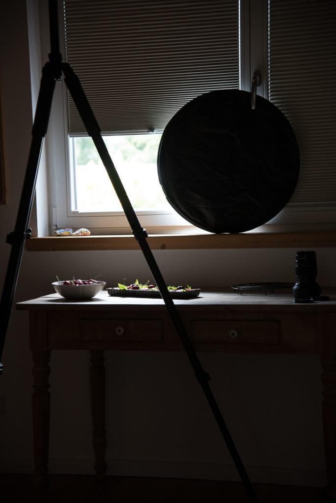 Food Fotografie Licht Behind the scenes