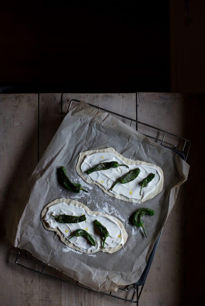 Flammkuchen ohne Hefe Ziegenkäse einfach