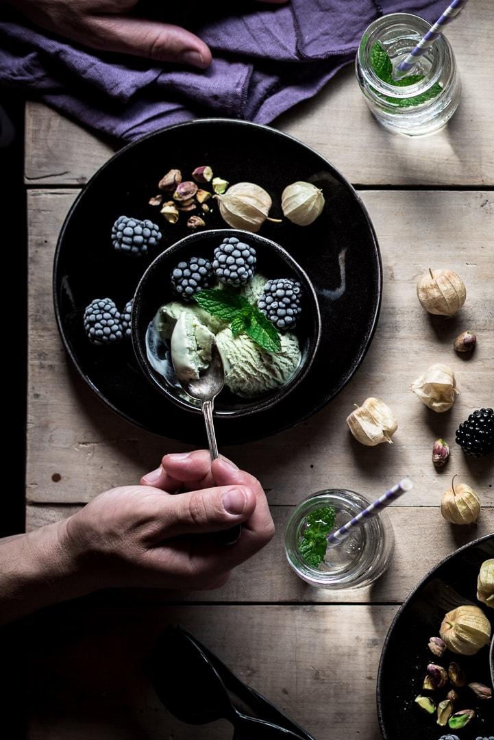Eis Food Fotografie
