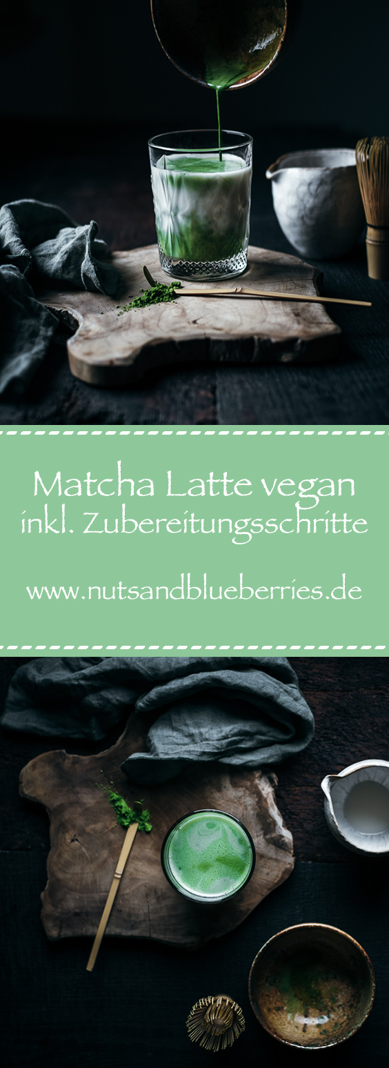 Matcha Latte vegan Pinterest
