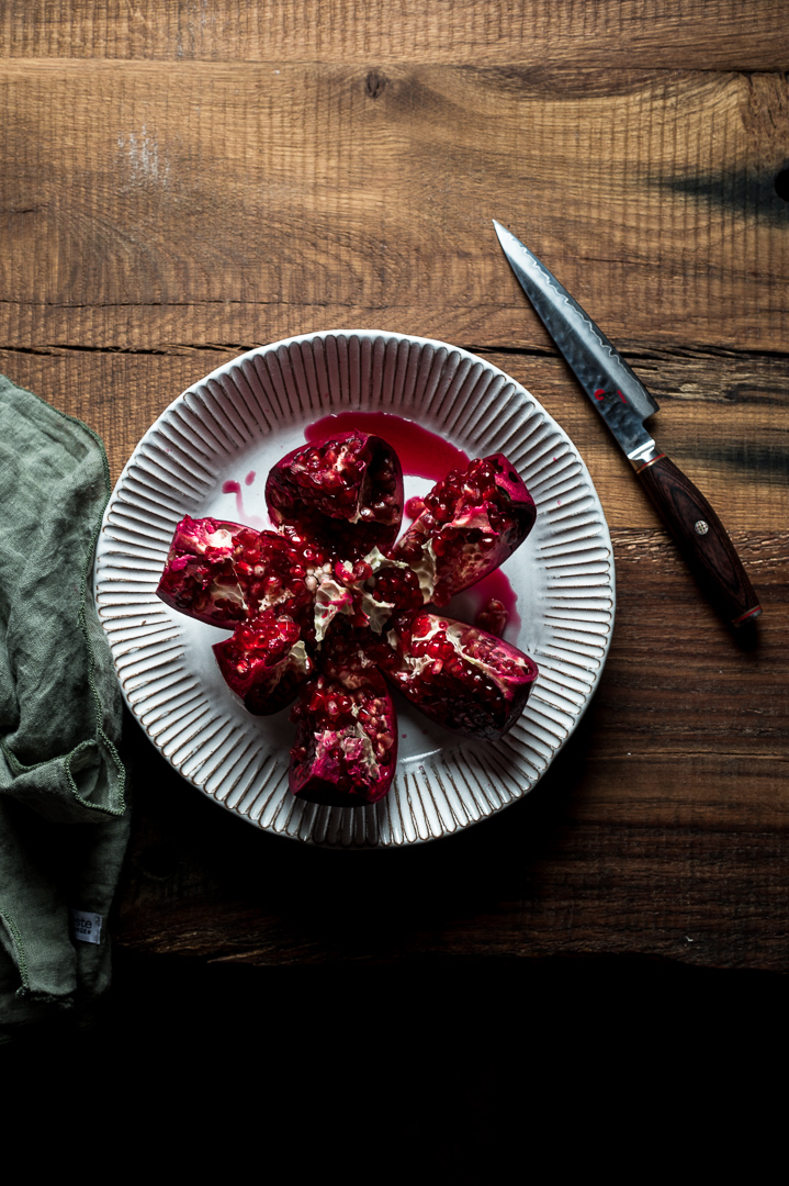 Granatapfel Food Fotografie
