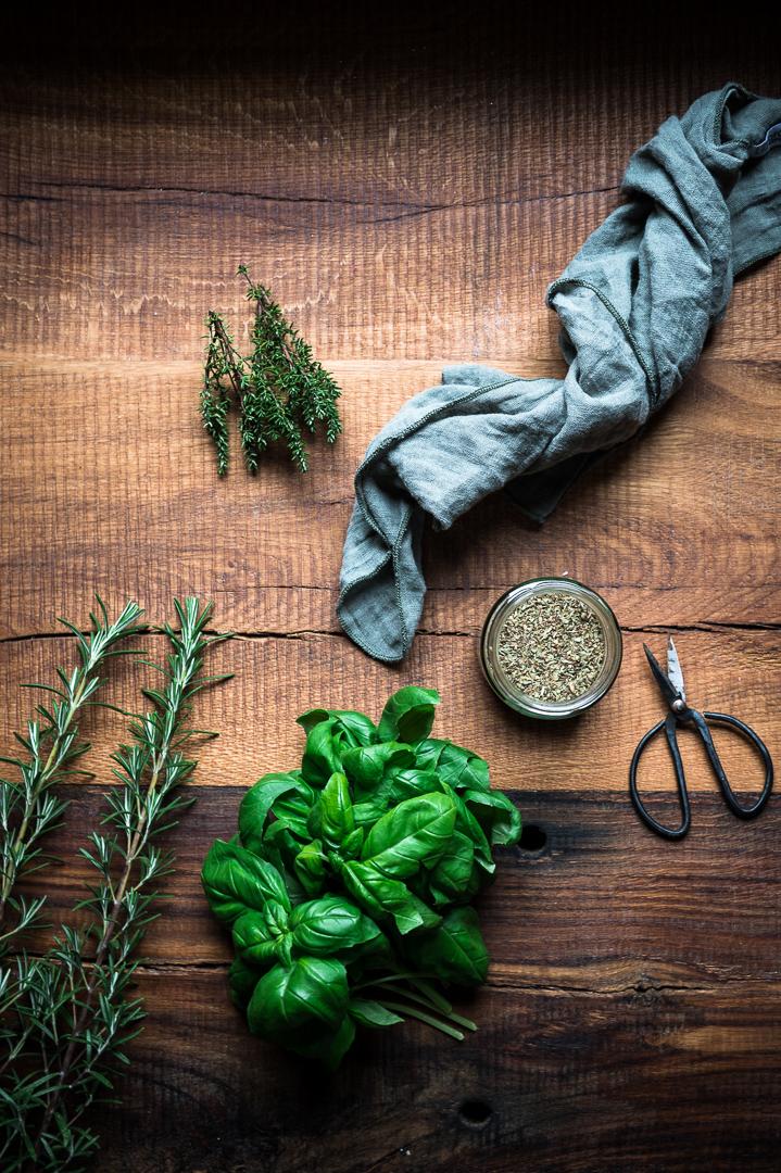Feta aus dem Ofen Food Fotografie