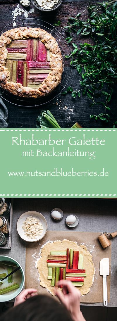 Rhabarber Galette Anleitung