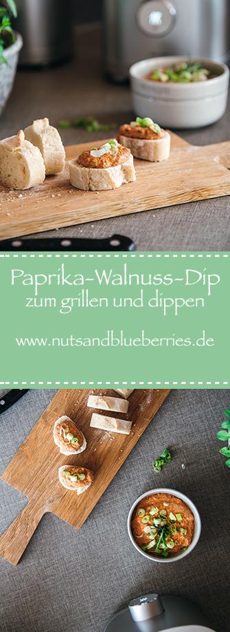 Paprika-Walnuss-Dip