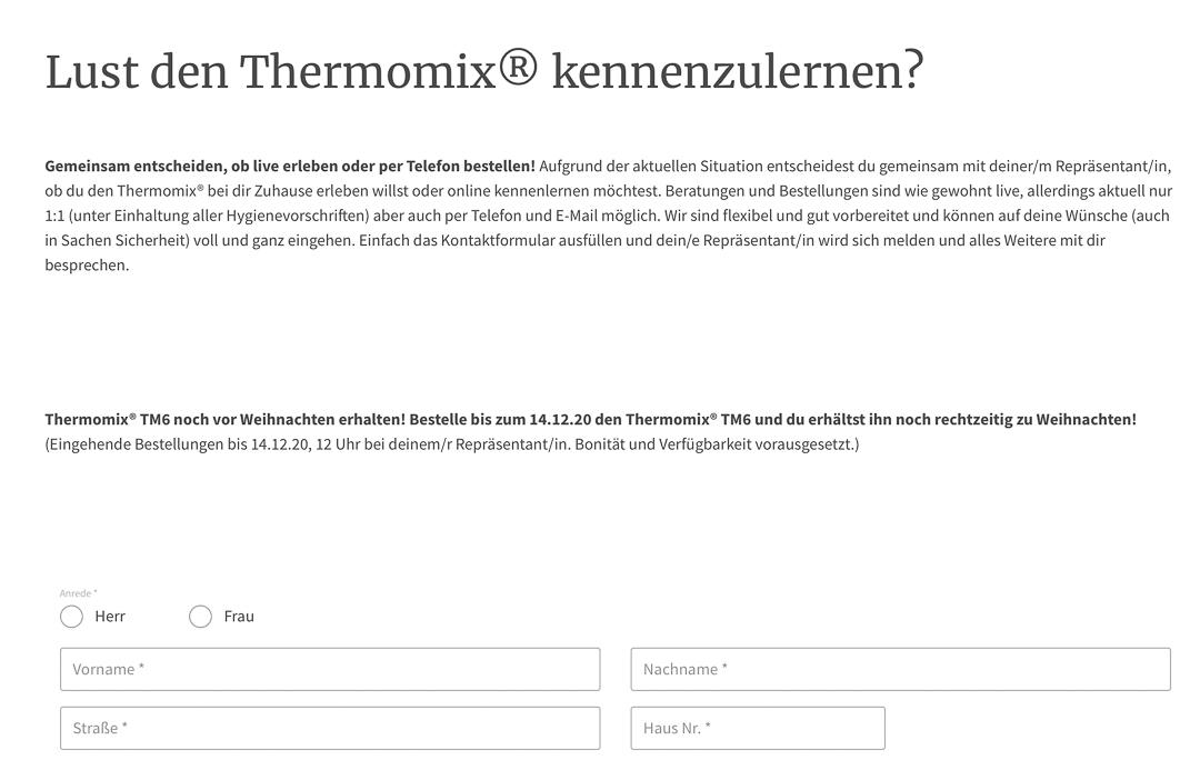 thermomix Tm6 Erfahrungen