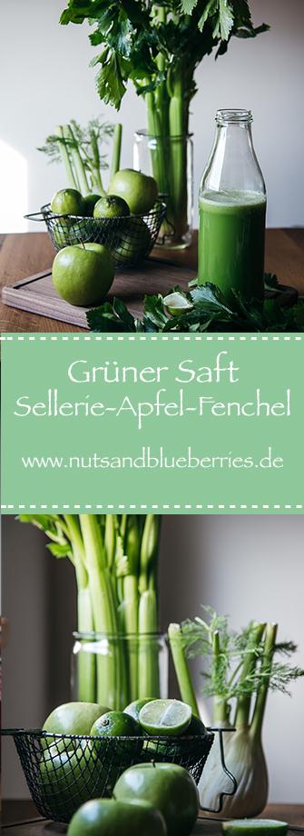 Sellerie-Apfel-Fenchel-Saft