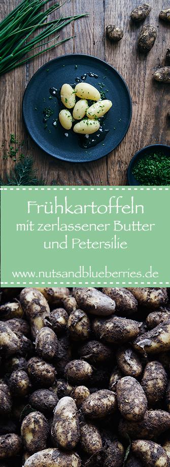 Frühkartoffeln mit Butter